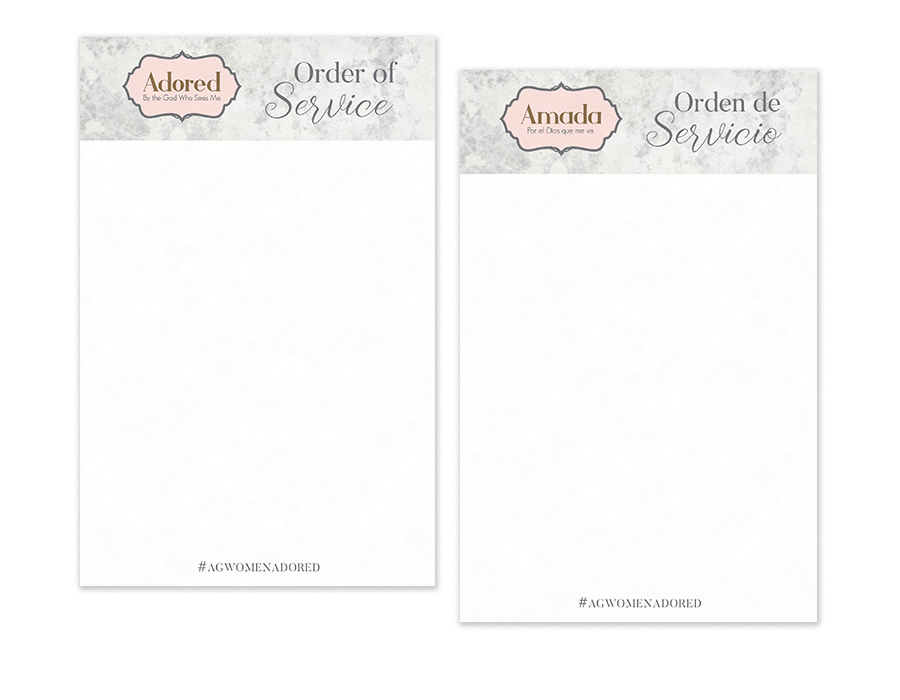 005a95879c Order of Service—English and Spanish