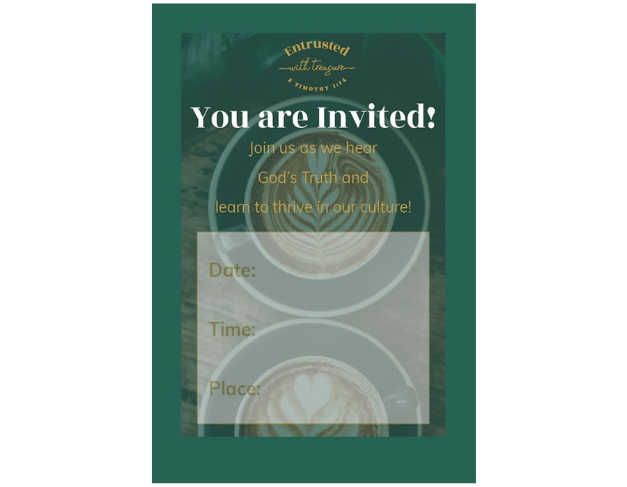 You're Invited Coffee